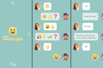 تطبيق Wemogee أحد مشاريع سامسونج للدردشة بغض النظر عن فهم اللغة