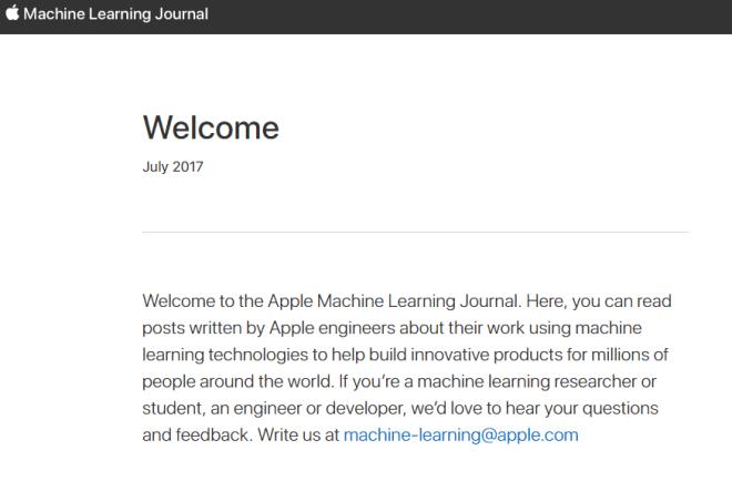 مدونة تعلم الآلة آبل