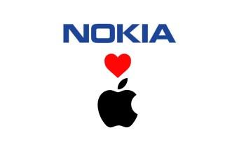 Nokia-love-Apple