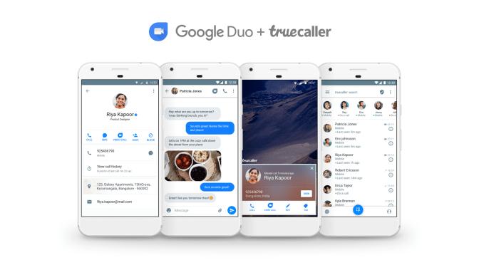 Truecaller يتكامل الآن مع تطبيق Google Duo