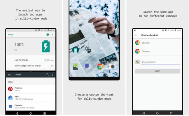 تطبيقSplit-screen creator لتشغيل أي إختصارين بوضع النوافذ المتعددة