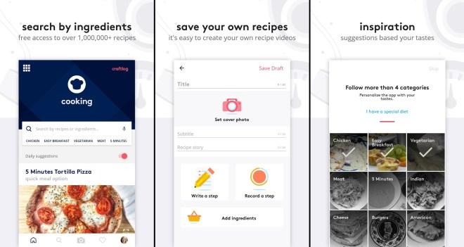 تطبيقRecipes يُقدّم لك أفضل الأطباق وطريقة طهيها