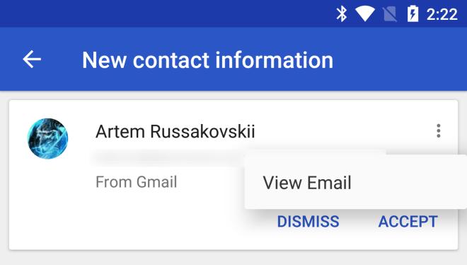 تطبيق جهات اتصال قوقل يدعم الآن شريحتي إتصال SIM