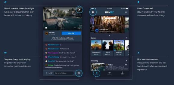 تحديث تطبيق البث المباشرMixer مع إعادة تصميم كاملة