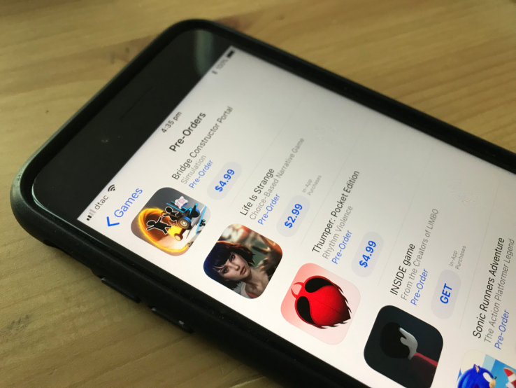 Apple's App Store now lets you pre-order iOS apps and games before they launch