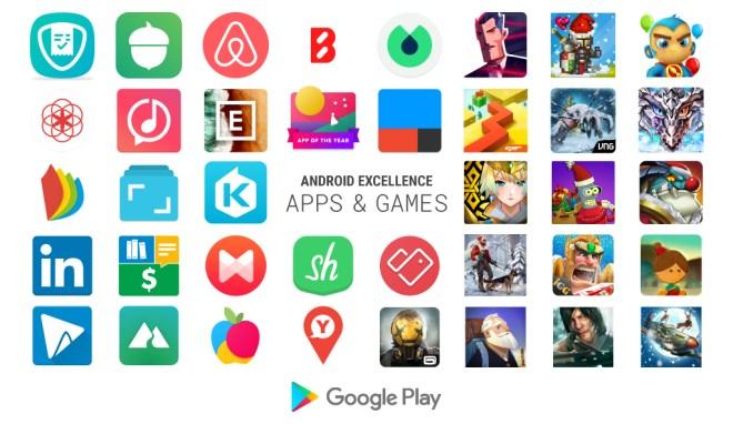 إليك التطبيقات والألعاب الجديدة بقسم Android Excellence لعام 2018 من قوقل
