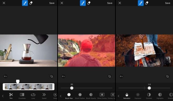 تطبيقCinegraph لتجميد الفيديو والصور الحية وجعل جزء منها يتحرك