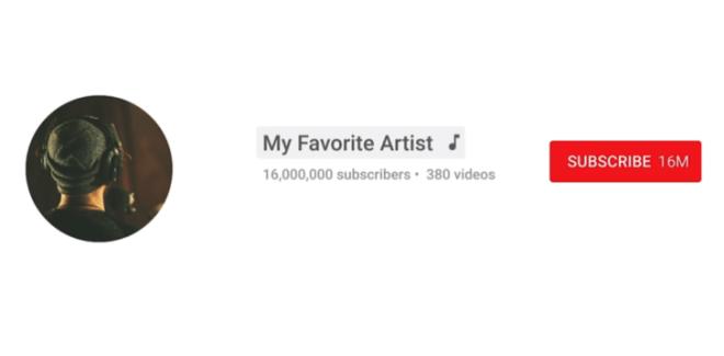 يوتيوب تُعلن عن دمج قنوات الفنّانين في قناة رسمية مع إلغاء اشتراك المستخدم في القنوات الغير رسمية