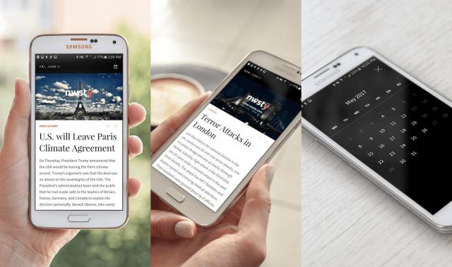 تطبيق Nwsty الجديد يعرض مُلخّص الخبر في أندرويد