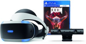 نظارة الواقع الافتراضي وكاميرا PS4 وهدية لعبة DOOM من Sony