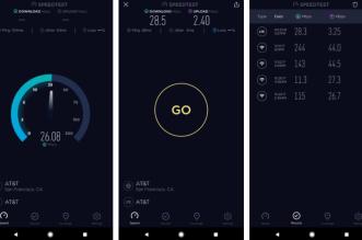 أخيرًا تطبيق قياس سرعة الانترنتSpeedtest يجدد واجهته كليًا