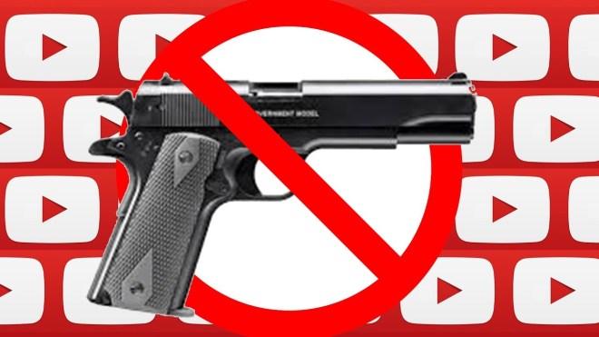 يوتيوب تفرض قيوداً على فيديوهات الاسلحة النارية