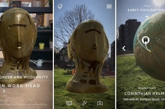 BBC تطلق تطبيقها الجديد Civilisations AR لمشاهدة الآثار بالواقع المعزز