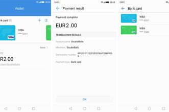 تطبيق خدمةHuawei Wallet يصل متجر قوقل بلاي
