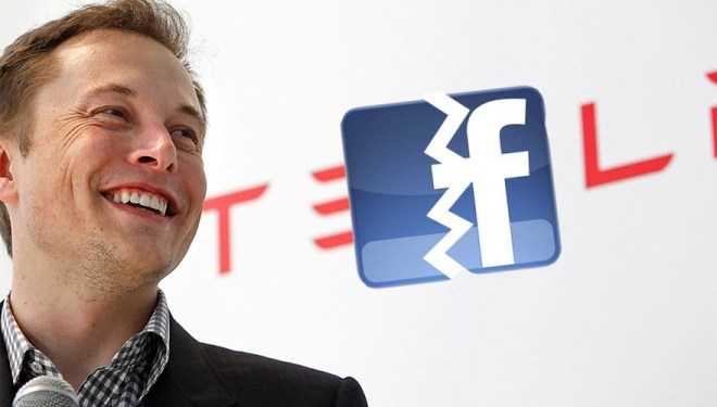 إيلون ماسك حذف صفحات شركاته SpaceX و Tesla من فيسبوك