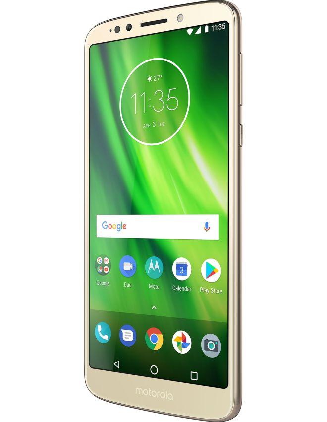 تسريب الصور الكاملة ومواصفات هاتفي موتورولا Moto G6 Plus و G6 Play