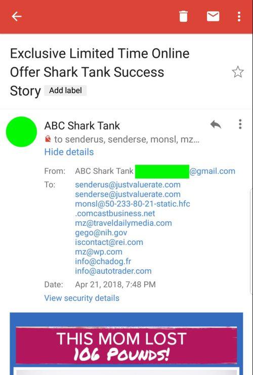 الحيلة الجديدة لرسائل Spam في Gmail تُظهر أنك المرسل