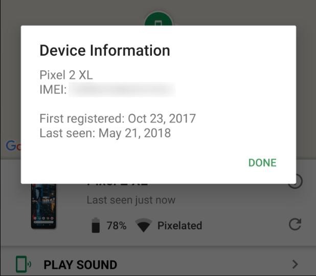 تطبيقFind My Device يدعم إضافة أرقامIMEI لتبسيط الإبلاغ عن الهواتف المفقودة