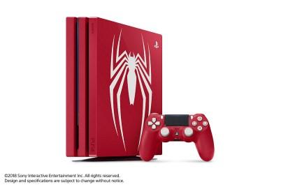 سوني تطلق نسخة خاصة من جهاز PS4 Pro لشخصة سبايدرمان
