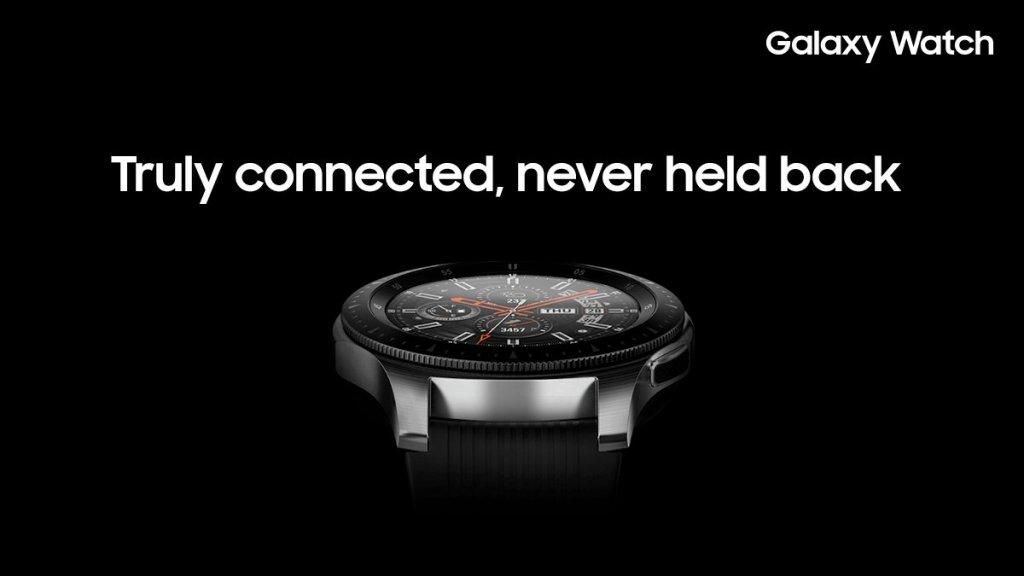 سامسونج تكشف عن ساعتها Galaxy Watch التي علامة تجارية جديدة
