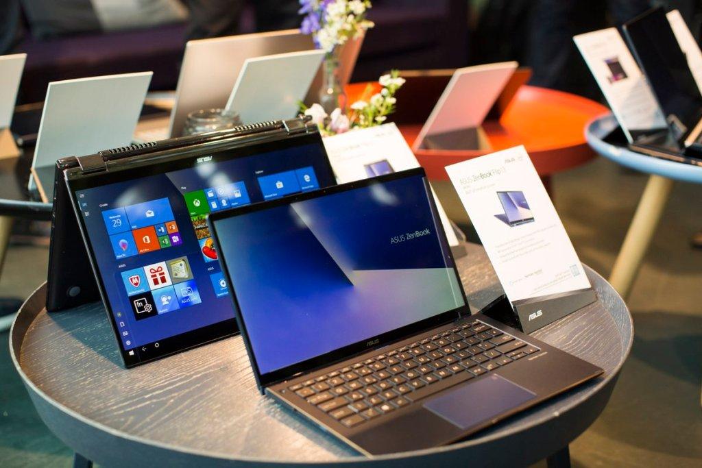 أسوس تكشف عن 5 لابتوبات ZenBook بتصميم أفضل وحواف أقل
