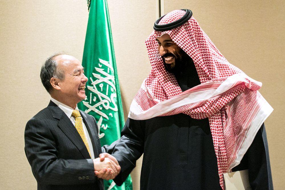 صندوق الاستثمارات العامة السعودي يستعد لاستثمار 45$ مليار في SoftBank Vision Fund التقني