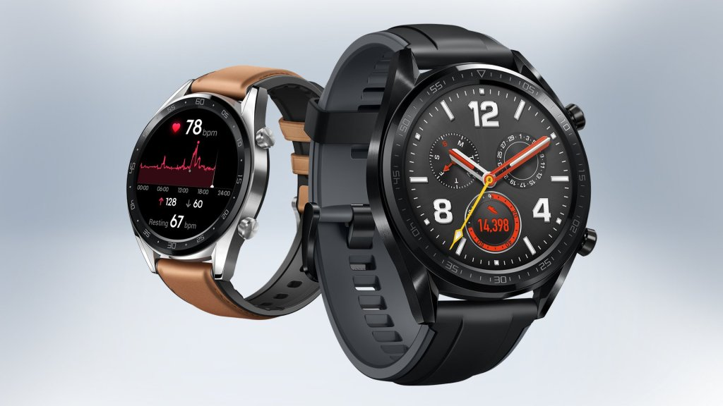6fb68e58b هواوي تكشف عن ساعة Watch GT بشاشة OLED وسوار Band 3 Pro - عالم التقنية