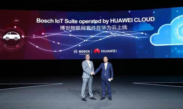 خدمات Bosch IoT Suite ستبدأ العمل على سحابة هواوي