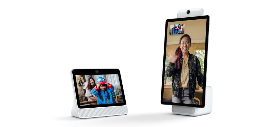 فيسبوك تكشف عن جهازي Portal و Portal+ لإجراء محادثات الفيديو بطريقة مختلفة