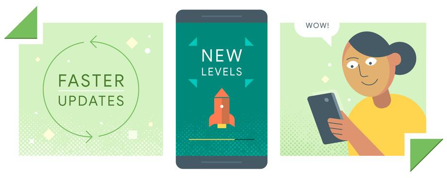 قريبًا؛ سيتمكن أصحاب هواتف أندرويد من استمرار استخدام التطبيق أثناء تحديثه