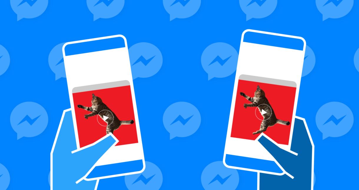 فيسبوك تختبر خاصية جديدة لمشاهدة الفيديو بشكل جماعي عبر ماسنجر