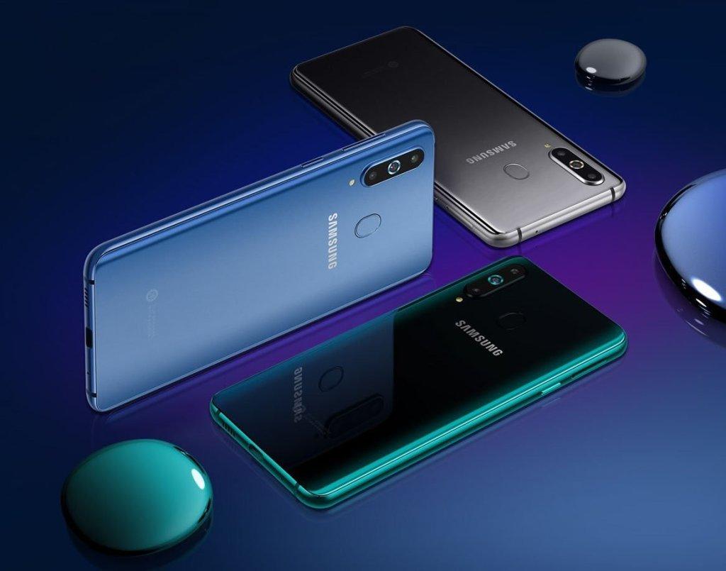 سامسونج تكشف عن هاتف جالاكسي A8s بشاشة Infinity-O وكاميرا ثلاثية بالخلف