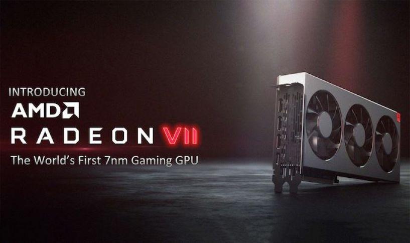 شركة AMD تكشف عن وحدة معالجة الرسومات القادمة Radeon VII بتقنية 7 نانومتر