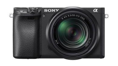 سوني تطلق كاميرا α6400 E-mount عديمة المرآة مع شاشة مخصصة لصناع المحتوى