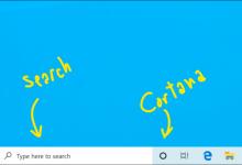 تحديث ويندوز 10 القادم سيفصل أيقونة البحث عن كورتانا وغيرها