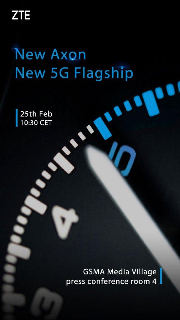 شركة ZTE ستكشف عن هاتف يدعم 5G في برشلونة 7afae973gy1g0aada8g0