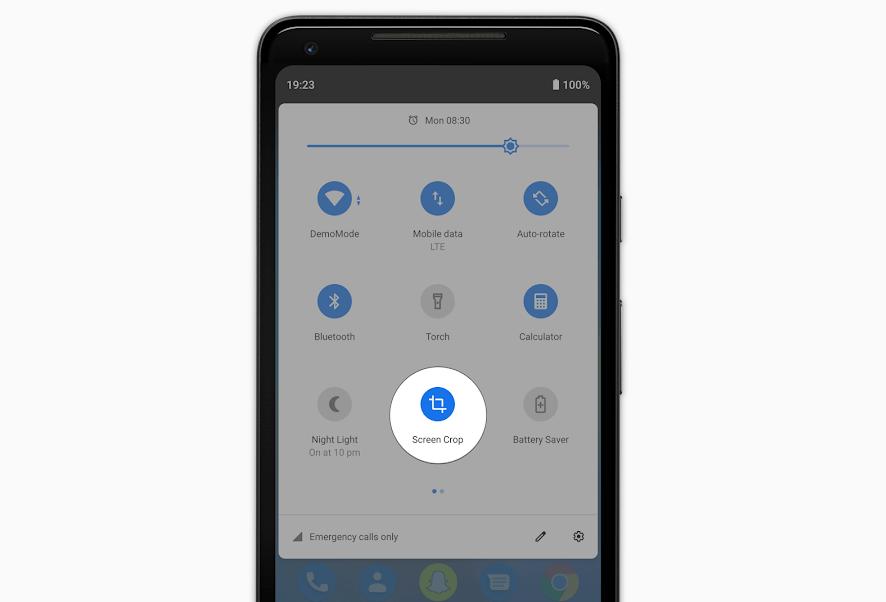 تطبيق Screen Crop الجديد لاقتصاص أي جزء من الشاشة مباشرة من الإعدادات السريعة