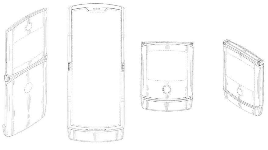 موتورولا تؤكد على هاتفها القابل للطي بتصميم مشابه لـRAZR