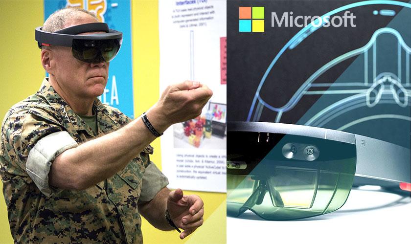 موظفي مايكروسوفت يطالبون الشركة بالانسحاب من عقد تزويد الجيش بنظارات Hololens