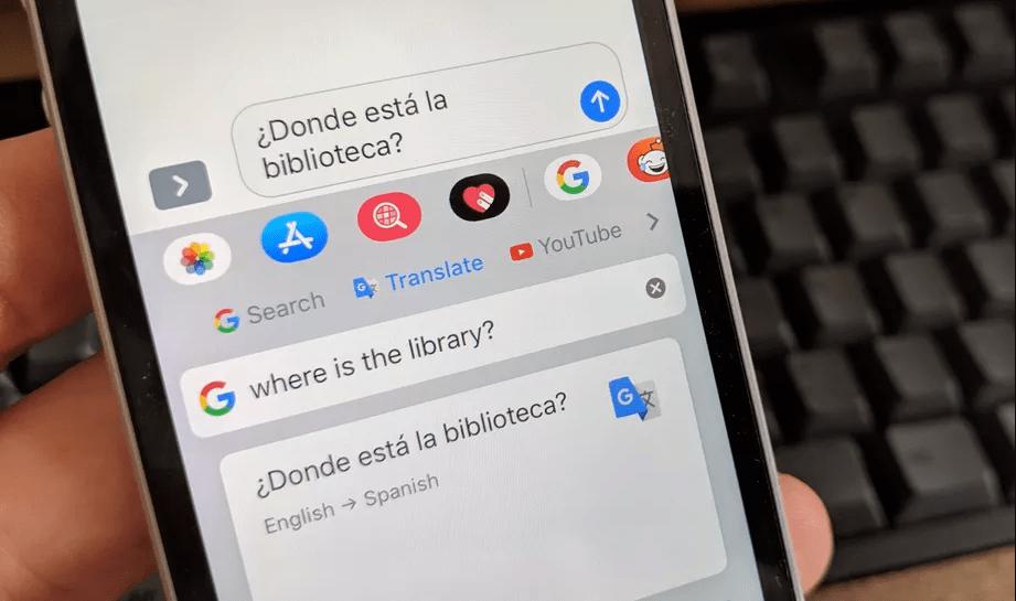 أخيرًا لوحة Gboard على iOS تأتي بخيار الترجمة