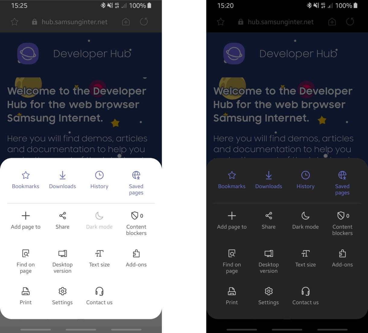 متصفّح سامسونج يدعم رسميًا تصميمOneUI وميزة منع التتبع الذكية