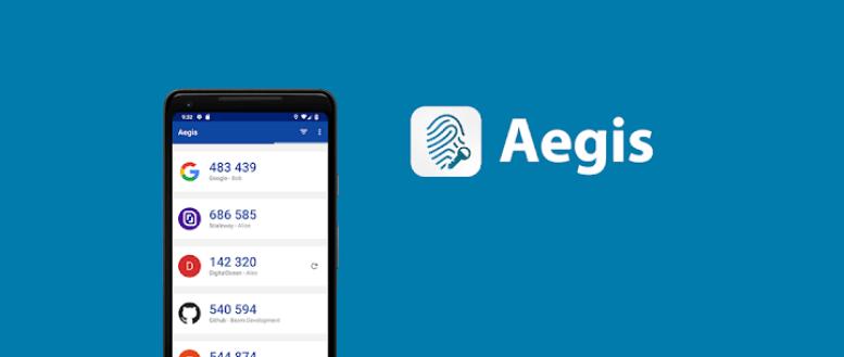 تطبيق Aegis Authenticator الجديد لإدارة رموز التحقق بخطوتين عبر البصمة