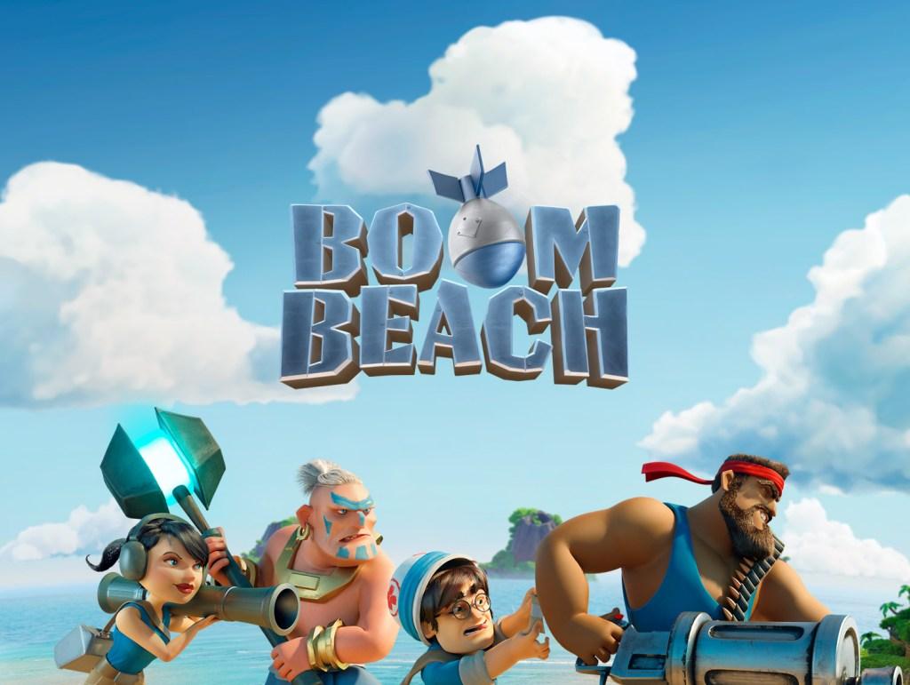 بوم بيتش Boom Beach