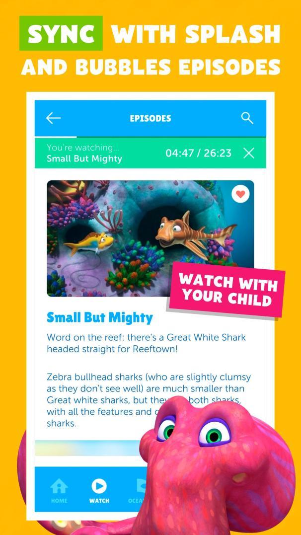 Splash and Bubbles for Parents1