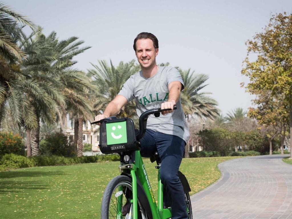 كريم تستحوذ على تطبيق مشاركة الدراجات الإماراتي