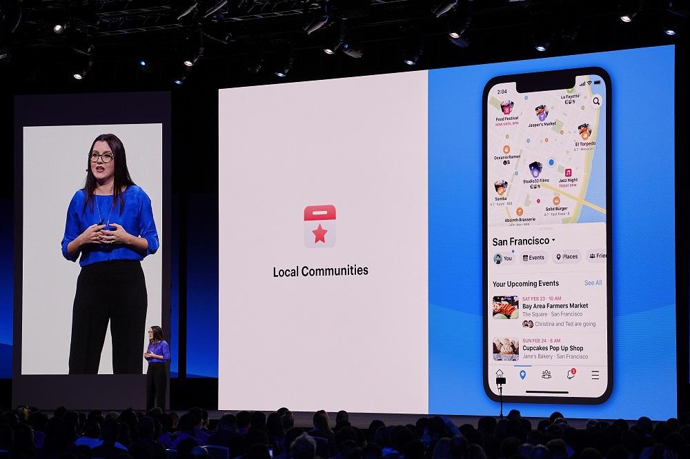 """فيسبوك تُعيد تصميم تطبيقها الرئيسي مع التركيز على تبويبي """"المجموعات والأحداث"""""""