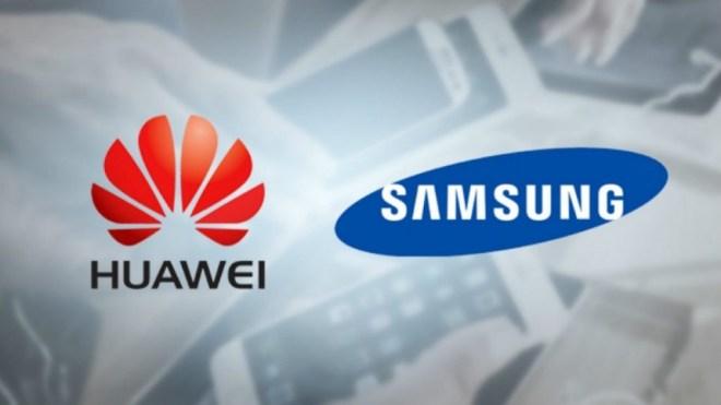 سامسونج قد تتوقف عن تزويد هواوي بقطع الهواتف بسبب العقوبات الأمريكية