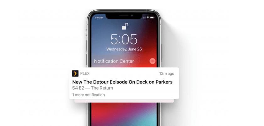 أخيرًا تطبيق Plex يدعم إشعارات الخادم في آخر تحديث له