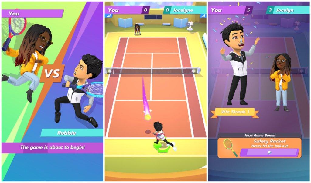 سناب شات تُطلق لعبة Bitmoji Tennis على منصتها احتفاءً ببطولة ويمبلدون