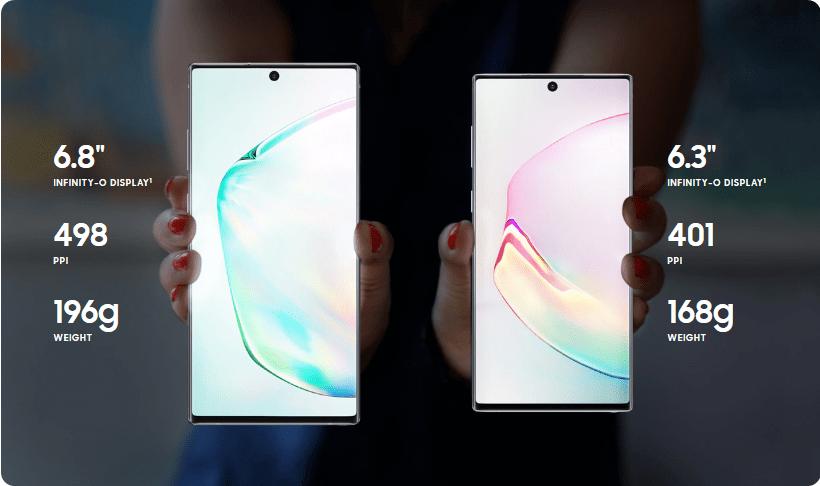 مؤتمر سامسونج: الكشف رسميًا عن سلسلة Galaxy Note 10 - جالكسي نوت 10